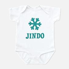 JINDO Snowflake Infant Bodysuit