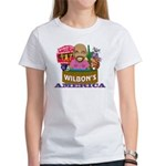 Wilbon's America (FRONT) Women's T-Shirt