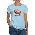 Wilbon's America (FRONT) Women's Light T-Shirt