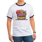 Wilbon's America (FRONT ONLY) Ringer T