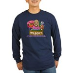 Wilbon's America (FRONT) Long Sleeve Dark T-Shirt
