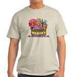 Wilbon's America (FRONT ONLY) Light T-Shirt