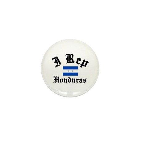 I rep Honduras Mini Button (100 pack)