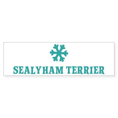 SEALYHAM TERRIER Snowflake Bumper Sticker