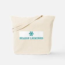 BELGIAN LAEKENOIS Snowflake Tote Bag