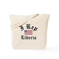 I rep Liberia Tote Bag