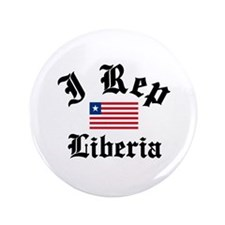 "I rep Liberia 3.5"" Button"
