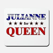 JULIANNE for queen Mousepad