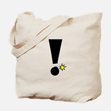 Exclamation Bomb! Tote Bag