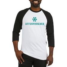 AFFENPINSCHER Snowflake Baseball Jersey
