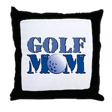 Golf Mom Throw Pillow