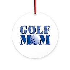Golf Mom Ornament (Round)