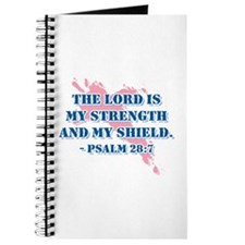 Psalm 28:7 Journal