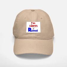 Retirement Bliss.:-) Baseball Baseball Cap