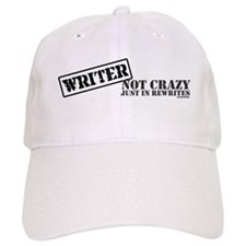 Not Crazy Just In Rewrites Baseball Cap