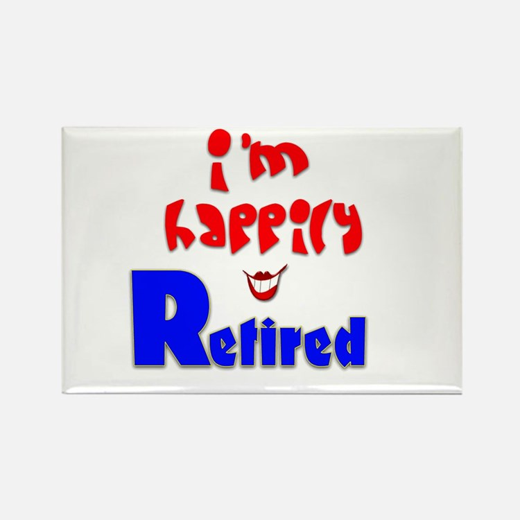 Retirement Bliss.:-) Rectangle Magnet