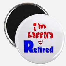 """Retirement Bliss.:-) 2.25"""" Magnet (10 pack)"""
