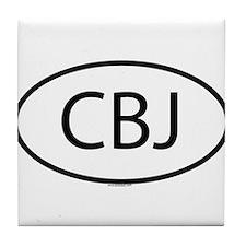 CBJ Tile Coaster