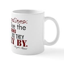 Douglas Adams Deadlines Quote Small Mug
