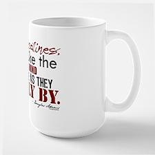 Douglas Adams Deadlines Quote Large Mug