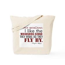 Douglas Adams Deadlines Quote Tote Bag