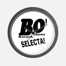 Barack Obama BO' SELECTA! Wall Clock