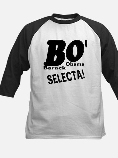 Barack Obama BO' SELECTA! Kids Baseball Jersey