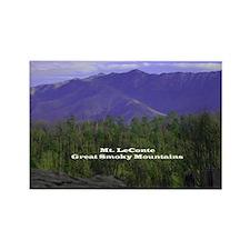 Mt LeConte Rectangle Magnet