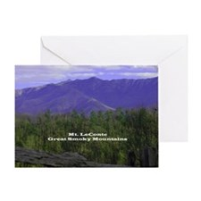 Mt LeConte Greeting Card