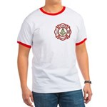 Masonic Firefighter Ringer T