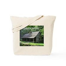 """Noah """"Bud"""" Ogle Cabin Tote Bag"""