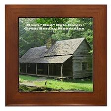 """Noah """"Bud"""" Ogle Cabin Framed Tile"""