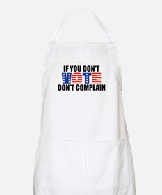 If You Don't Vote BBQ Apron