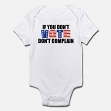 If You Don't Vote Infant Bodysuit