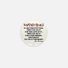 Moliere Writing Quote Mini Button (100 pack)