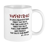 Moliere Writing Quote Mug