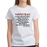 Moliere Writing Quote Women's T-Shirt