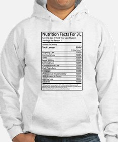 Nutrition Facts For 3L Hoodie