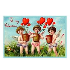 Growing Love Vintage Postcards (Package of 8)