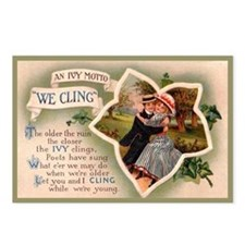 Ivy League Vintage Valentine Postcards -Pkg of 8