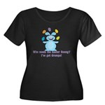 Easter Bunny? I've got Gramps! Women's Plus Size S