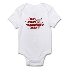 My 1st Valentine's Day BOY Infant Bodysuit