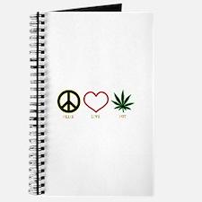 Peace Love Pot Journal