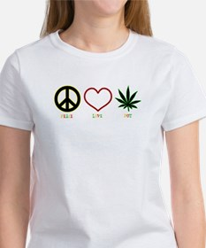 Peace Love Pot Tee