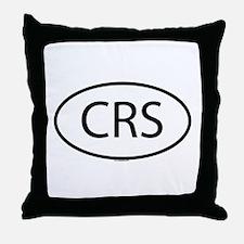 CRS Throw Pillow