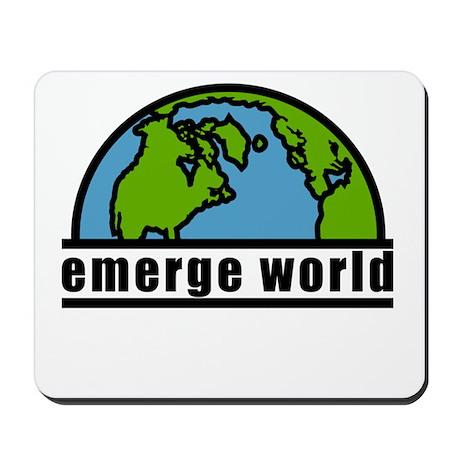 emerge world Mousepad