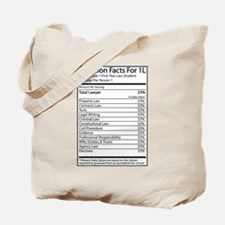 Nutrition Facts For 1L Tote Bag