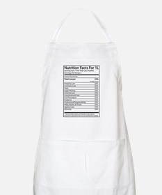 Nutrition Facts For 1L BBQ Apron