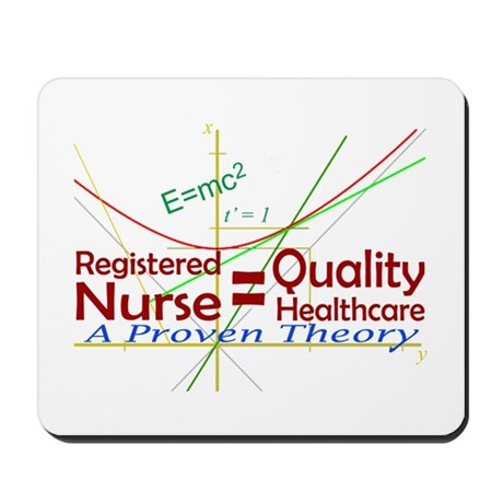 RN = Quality Healthcare Mousepad