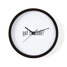 got cowbell? Wall Clock